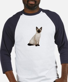 Siamese Cat Baseball Jersey