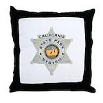 Calif State Ranger Throw Pillow