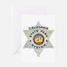 Calif State Ranger Greeting Card