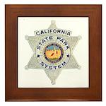 Calif State Ranger Framed Tile