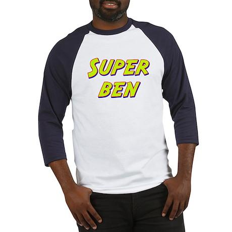 Super ben Baseball Jersey