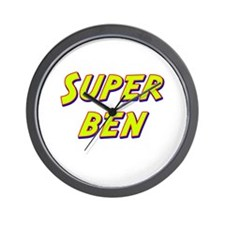 Super ben Wall Clock