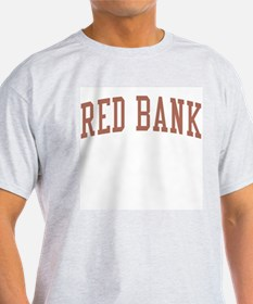 Red Bank New Jersey NJ Red T-Shirt