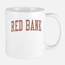 Red Bank New Jersey NJ Red Mug