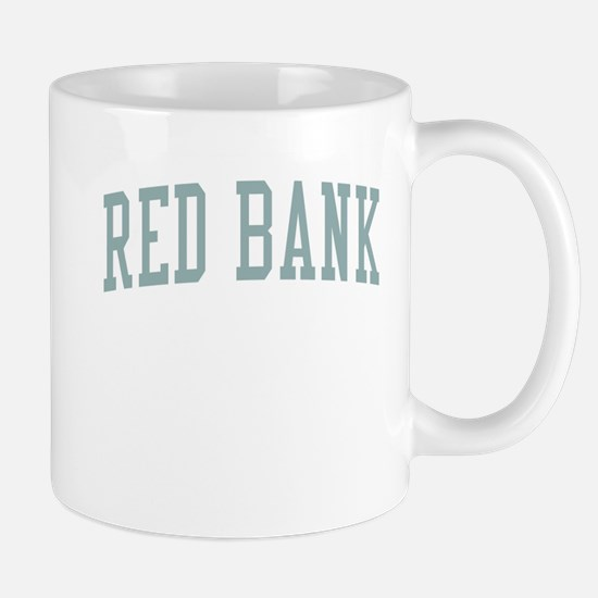 Red Bank New Jersey NJ Green Mug