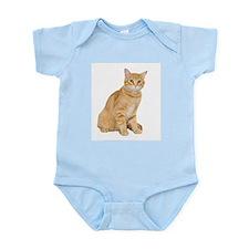 Yellow Cat Infant Bodysuit