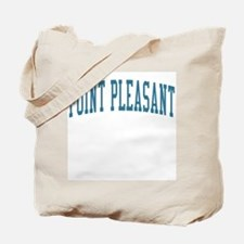 Point Pleasant New Jersey NJ Blue Tote Bag