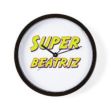 Super beatriz Wall Clock
