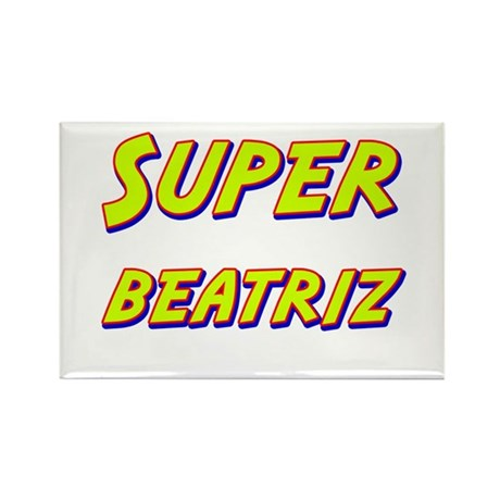 Super beatriz Rectangle Magnet