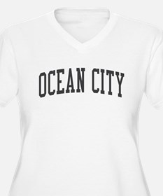 Ocean City New Jersey NJ Black T-Shirt