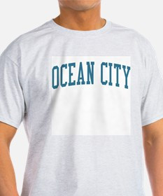 Ocean City New Jersey NJ Blue T-Shirt