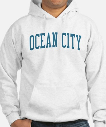 Ocean City New Jersey NJ Blue Hoodie
