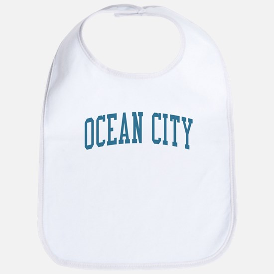 Ocean City New Jersey NJ Blue Bib