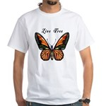 Butterfly White T-Shirt