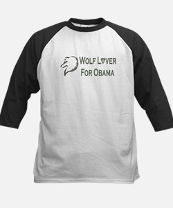 Cute Wolves for obama Tee