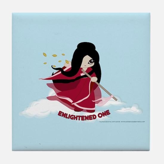 Fei the Martial Artist Tile Coaster
