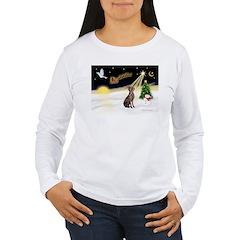 Night Flight/Weimaraner T-Shirt