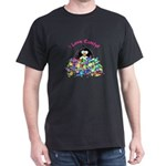 I Love Candy Penguin Dark T-Shirt