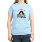I Love Candy Penguin Women's Light T-Shirt
