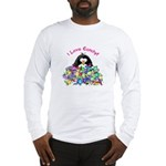 I Love Candy Penguin Long Sleeve T-Shirt