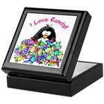 I Love Candy Penguin Keepsake Box