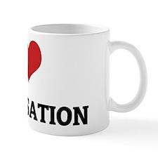 I Love Improvisation Mug