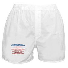 Symptoms Of A Minnesota Winter Boxer Shorts