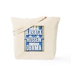 Jews For Barack Obama Tote Bag