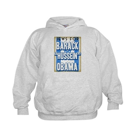 Jews For Barack Obama Hoodie