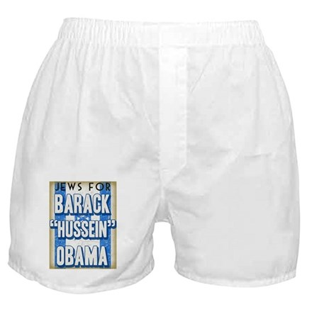 Jews For Barack Obama Boxer Shorts