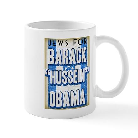 Jews For Barack Obama Mug