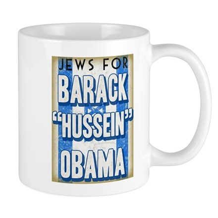 Jews For Barack Obama Mug