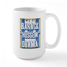 Jews For Barack Obama Large Mug