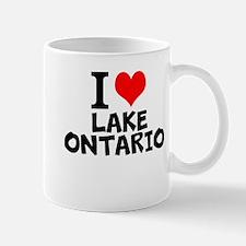 I Love Lake Ontario Mugs