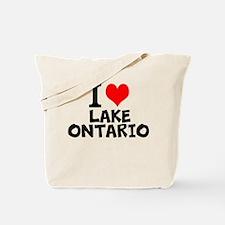 I Love Lake Ontario Tote Bag