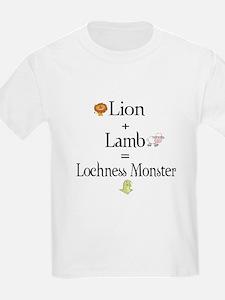 Lion Plus Lamb Equals Lochnes T-Shirt