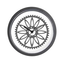 Flower Chainring Wall Clock rhp3