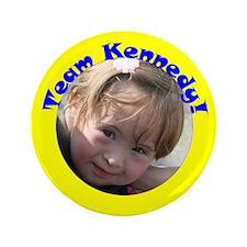 """Team Kennedy 2007 3.5"""" Button"""