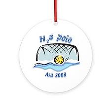 H2o Polo Custom Ornament (for Asa/Becky)