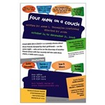 Four Men on a Couch Large Poster
