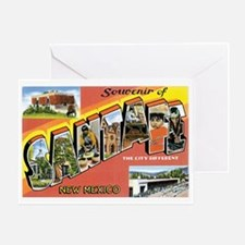 Santa Fe New Mexico NM Greeting Card