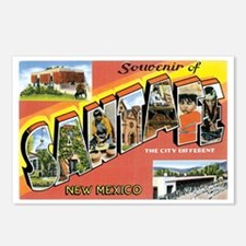 Santa Fe New Mexico NM Postcards (Package of 8)