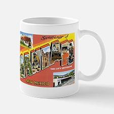 Santa Fe New Mexico NM Mug