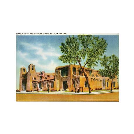 Santa Fe New Mexico NM Rectangle Magnet