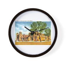 Santa Fe New Mexico NM Wall Clock