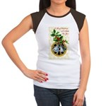 Bells and Holly Women's Cap Sleeve T-Shirt