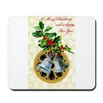 Bells and Holly Mousepad