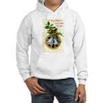 Bells and Holly Hooded Sweatshirt