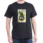 Bells and Holly Dark T-Shirt