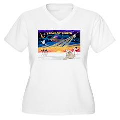 XmasSunrise/Pyrenees 1 T-Shirt